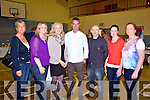 Pictured on Wednesday night at the Twohig's Supervalu food fair and cookery demonstration with TV Celebrity chef Kevin Dundon at Fr.Caseys sports complex abbeyfeale was L-R: Thereasa Dillane, Abbeyfeale, Diane O'Connor, Caherhayes, Ramune Ziliene, Manager of Supervalu Abbeyfeale, Kevin Dundon, TV Celebrity Chef, Mike Foley, Abbeyfeale, Trish Collins, Newcastle West, Anne O'Connor, Listowel. All proceeds will go to Scoil Mhathair De and St. Mary's boys national school, Abbeyfeale.