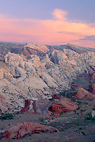 Hall Creek Valley &amp; Waterpocket Fold <br />