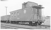 Caboose #0589.<br /> D&amp;RGW    Taken by Winters, Charles E.
