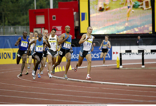 99. YURIY BORZAKOVSKIY (RUS), Men's 800m, Norwich Union Grand Prix, Crystal Palace 020823 Photo:Glyn Kirk/Action Plus...Ahletics 2002.man.track  and field....male