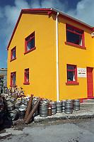 Pub & Beer Barrels, Murreagh, Dingle Peninsula, County Kerry, Ireland