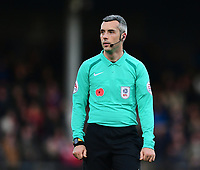 Referee Sebastian Stockbridge<br /> <br /> Photographer Chris Vaughan/CameraSport<br /> <br /> The EFL Sky Bet League One - Scunthorpe United v Bristol Rovers - Saturday 11th November 2017 - Glanford Park - Scunthorpe<br /> <br /> World Copyright &copy; 2017 CameraSport. All rights reserved. 43 Linden Ave. Countesthorpe. Leicester. England. LE8 5PG - Tel: +44 (0) 116 277 4147 - admin@camerasport.com - www.camerasport.com