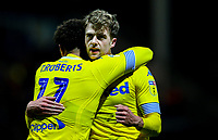 Leeds United's Patrick Bamford celebrates scoring the opening goal <br /> <br /> Photographer Alex Dodd/CameraSport<br /> <br /> The EFL Sky Bet Championship - Preston North End v Leeds United -Tuesday 9th April 2019 - Deepdale Stadium - Preston<br /> <br /> World Copyright &copy; 2019 CameraSport. All rights reserved. 43 Linden Ave. Countesthorpe. Leicester. England. LE8 5PG - Tel: +44 (0) 116 277 4147 - admin@camerasport.com - www.camerasport.com