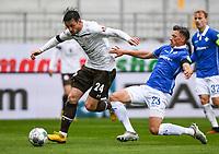 v.l. Borys Tashchy (FC St. Pauli), Nicolai Rapp (SV Darmstadt 98) - 23.05.2020: Fussball 2. Bundesliga, Saison 19/20, Spieltag 27, SV Darmstadt 98 - FC St. Pauli, emonline, emspor, v.l. Stadionansicht Innenraum, Rasen Uebersicht vor dem Spiel<br /> <br /> <br /> Foto: Florian Ulrich/Jan Huebner/Pool VIA Marc Schüler/Sportpics.de<br /> Nur für journalistische Zwecke. Only for editorial use. (DFL/DFB REGULATIONS PROHIBIT ANY USE OF PHOTOGRAPHS as IMAGE SEQUENCES and/or QUASI-VIDEO)