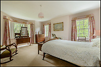 BNPS.co.uk (01202 558833)Pic: Savills/BNPS<br /> <br /> Main bedroom.<br /> <br /> A river runs through it...<br /> <br /> Nature lovers will want to get their hands on this striking home with a picturesque chalk stream running through its grounds - on the market for &pound;3.5million.<br /> <br /> The Mill House in the village of Tewin, Herts, sits on the bank of the River Mimram which attracts an abundance of wildlife.<br /> <br /> The new owners can watch the birds, fish, foxes and deer from the comfort of the house and ten acres of gardens.<br /> <br /> The site, which dates back to the Domesday Book, has had several mills on the plot over the years and still has some original features from the mill.