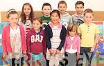 Pupils at Tahilla National School back to school are Jasmin Durkin, Enya Schmidt, Liqin Hourihan, Marissa Kool, Ronan O'Connor, Melanie Schmidt, Michael O'Connor, Leon O'Sullivan and Serena O'Sullivan.