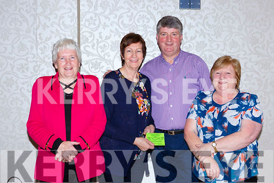 Peig Coffey, Siobhain lewis, John Kelly and Sheila Doona at the Muckross Concert in the Killarney Oaks Hotel on Thursday night