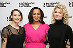 "Sara Topham, Opal Alladin, and Scarlett Strallen attends the ""Travesties"" Meets The Press on March 6, 2018 at the Roundabout Theatre in New York City."
