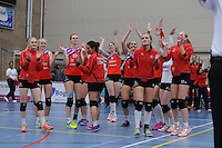 VOLLEYBAL: SNEEK: 17-04-2016, VC Sneek - Set-Up, uitslag 3-2, ©foto Martin de Jong