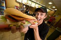 Tom Windscheffel of Derbyshire, Subway franchisee