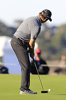 Jerry Kelly (USA) putts on the 1st green at Spyglass Hill during Thursday's Round 1 of the 2018 AT&amp;T Pebble Beach Pro-Am, held over 3 courses Pebble Beach, Spyglass Hill and Monterey, California, USA. 8th February 2018.<br /> Picture: Eoin Clarke | Golffile<br /> <br /> <br /> All photos usage must carry mandatory copyright credit (&copy; Golffile | Eoin Clarke)