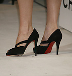 Nicollette Sheridan 's shoes at Chanel's Launch of Highly Anticipated New Concept Boutique on Robertson Boulevard on May 29, 2008 in Los Angeles, California.