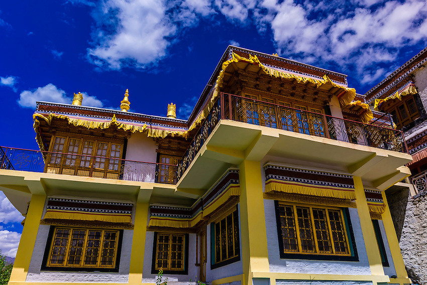 Samstanling monastery, Nubra Valley, Ladakh, Jammu and Kashmir State, India.