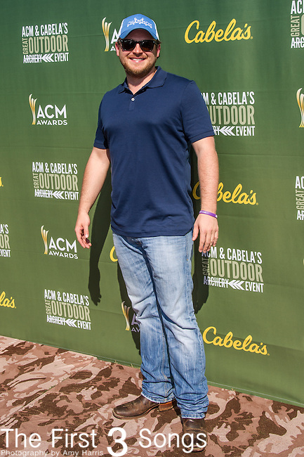 Josh Abbott attends the ACM & Cabela's Great Outdoor Archery Event during the 50th Academy Of Country Music Awards at the Texas Rangers Youth Ballpark on April 18, 2015 in Arlington, Texas.
