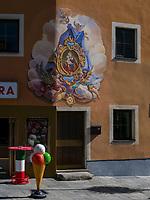 Eisdiele in Imst. Tirol, &Ouml;sterreich, Europa<br /> icecreeam parlour, Imst, Tyrol, Austria, Europe