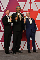 LOS ANGELES, CA. February 24, 2019: David Rabinowitz, Charlie Wachtel & Kevin Willmott at the 91st Academy Awards at the Dolby Theatre.<br /> Picture: Paul Smith/Featureflash