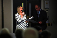 Mc Lucy Griffiths. Little Talks function at Solway Copthorne Hotel in Masterton, New Zealand on Thursday, 27 July 2017. Photo: Dave Lintott / lintottphoto.co.nz