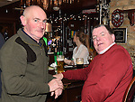 Peter Carolan and Smasher Martin pictured at the Emmett Lynch Memorial Cup presentation night in Daly's Donore. Photo:Colin Bell/pressphotos.ie