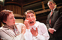 Louise Yates,Fiz Marcus,John Cunningham in A kind of Alaska by Harold Pinter part of a double bill with Me and My Friend opens at the Orange Tree Theatre Richmond on 14/6/02  pic Geraint Lewis