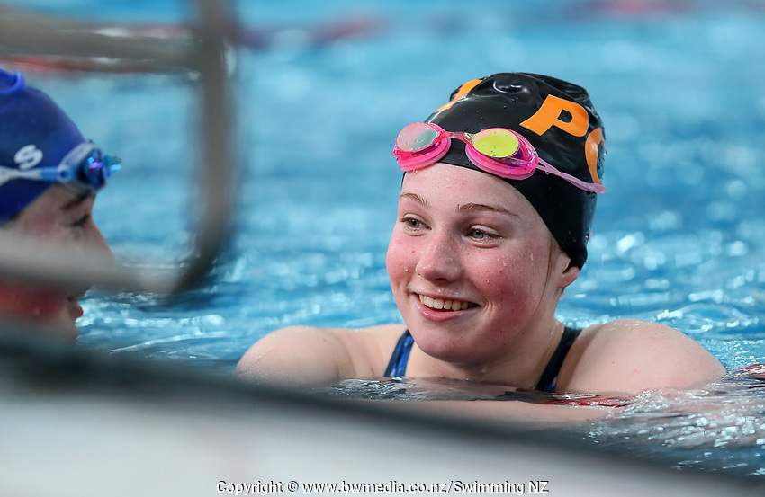 New Zealand Short Course Swimming Championships, National Aquatic Centre, Auckland, New Zealand, Wednesday 2nd October 2019. Photo: Simon Watts/www.bwmedia.co.nz/SwimmingNZ