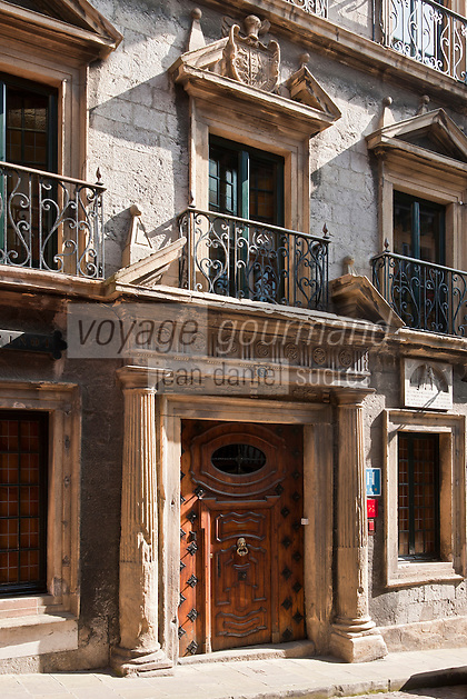 Europe/Espagne/Pays Basque/Guipuscoa/Fontarrabie: Palais de Casadevante XVII éme siècle