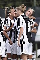 Mozzanica (Bg) 30/09/2017 - campionato di calcio serie A femminile / Mozzanica - Juventus / foto Daniele Buffa/Image Sport/Insidefoto<br /> nella foto: esultanza gol Benedetta Glionna
