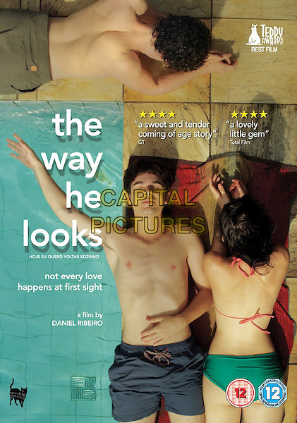 BRITISH DVD COVER ART<br /> in The Way He Looks (2014) <br /> (Hoje Eu Quero Voltar Sozinho)<br /> *Filmstill - Editorial Use Only*<br /> CAP/FB<br /> Image supplied by Capital Pictures