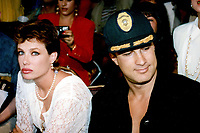 Steven Segal & wife, Kelly LeBrock 1992<br /> Photo By John Barrett-PHOTOlink.net