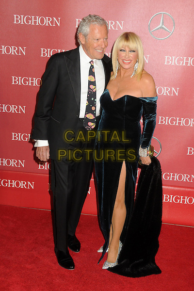 2 January 2016 - Palm Springs, California - Alan Hamel, Suzanne Somers. 27th Annual Palm Springs International Film Festival Awards Gala held at the Palm Springs Convention Center.  <br /> CAP/ADM/BP<br /> &copy;BP/ADM/Capital Pictures