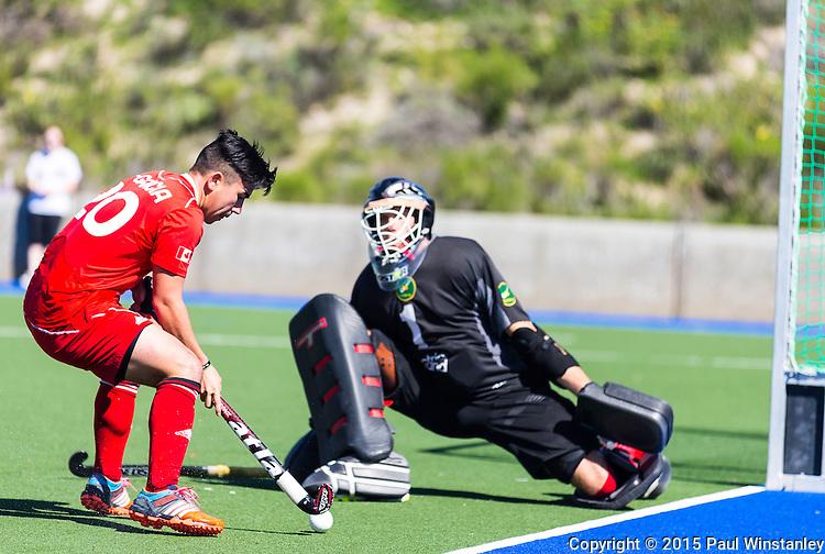 Ireland vs Canada in semi final  at World League Round 2 in Chula Vista, California.