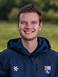 BLOEMENDAAL - videoman Remco van der Weijden . Heren I van HC Bloemendaal , seizoen 2019/2020.   COPYRIGHT KOEN SUYK