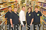 Managment and staff at Tralee's newest discount supermarket Buy Lo, at John Joe Sheehy Road, from Left John Gore Asst Manager, John Graney, Tim Doona, Manager, Liz Carey and Brian O'Mahony.