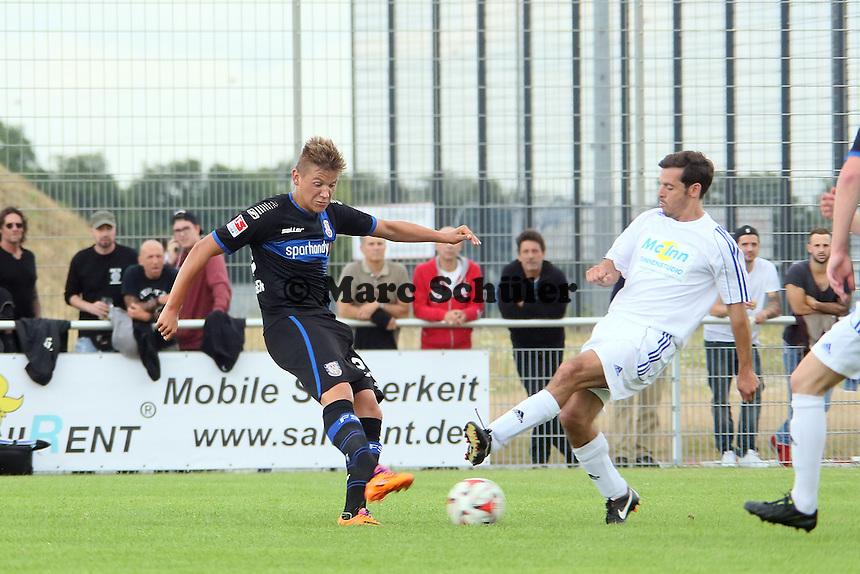 MArcel Kaffenberger (FSV) zieht ab - VfB Ginsheim vs. FSV Frankfurt