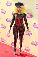 LOS ANGELES, CA - SEPTEMBER 06: Nicki Minaj at the 2012 MTV Video Music Awards at The Staples Center on September 6, 2012 in Los Angeles, California. © mpi28/MediaPunch inc. /NortePhoto.com<br />