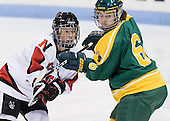 Kelly Wallace (Northeastern - 5), Jennifer Shields (Clarkson - 6) - The Northeastern University Huskies defeated the visiting Clarkson University Golden Knights 5-2 on Thursday, January 5, 2012, at Matthews Arena in Boston, Massachusetts.