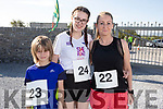 Jay Reynolds, Chloe and Mary Barrett from Tralee at the St Brendans AC 4 Mile Fun Run at the Maurice Collins Memorial Vintage Rally at Ardfert on Easter Sunday.