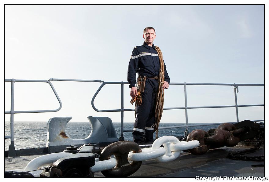 Porte h&eacute;licopt&egrave;res Jeanne d'Arc<br /> Ocean Atlantique<br /> Second Ma&icirc;tre Moysan