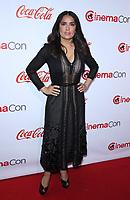 30 March 2017 - Las Vegas, NV -  Salma Hayek. 2017 CinemaCon Big Screen Achievement Awards at Caesar's Palace.  Photo Credit: MJT/AdMedia