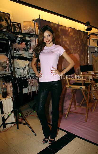 WWW.ACEPIXS.COM . . . . .  ....April 7 2009, New York City....Victoria Secret Model Miranda Kerr wears the new Victoria's Secret Dream Angels push up bra at Victoria's Secret on Lexington Avenue on April 7, 2009 in New York City....Please byline: NANCY RIVERA- ACE PICTURES.... *** ***..Ace Pictures, Inc:  ..tel: (212) 243 8787 or (646) 769 0430..e-mail: info@acepixs.com..web: http://www.acepixs.com