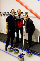 Alex salmond: Curling