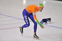 SCHAATSEN: CALGARY: Olympic Oval, 08-11-2013, Essent ISU World Cup, 1500m, Wouter olde Heuvel (NED), ©foto Martin de Jong