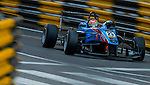 Wing Chung Chang races the Formula 3 Macau Grand Prix during the 61st Macau Grand Prix on November 15, 2014 at Macau street circuit in Macau, China. Photo by Aitor Alcalde / Power Sport Images