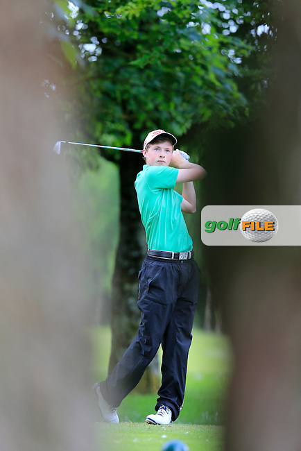 Mark Power (Kilkenny) during the final round of the 2015 Irish Boys Amateur Open Championship, Tuam Golf Club, Tuam, Co Galway. 26/06/2015<br /> Picture: Golffile | Fran Caffrey