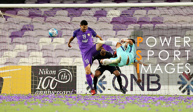 Al Ain (UAE) vs Al Hilal SFC (KSA) during their AFC Champions League 2017 Quarter-Finals at the Hazza Bin Zayed Stadium on 21 August 2017 in Al Ain , United Arab Emirates. Photo by Stringer / Lagardere Sports