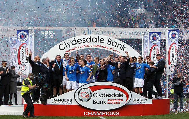 The Rangers - The SPL Champions 2010