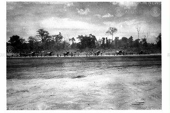 Zero Fighter Planes at Buin air base in the southeast end of Bougainville Island, August 1, 1943, were used for the Pacific War.