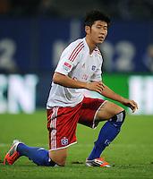 FUSSBALL   1. BUNDESLIGA    SAISON 2012/2013    8. Spieltag   Hamburger SV - VfB Stuttgart            21.10.2012 Heung Min Son (Hamburger SV)