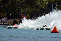 """Bert Henderson, GP-777 """"EMS Steeler"""" and Ken Brodie II, GP-50 """"Intensity""""  (Grand Prix Hydroplane(s)"""