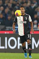 Alex Sandro of Juventus<br /> Roma 07-12-2019 Stadio Olimpico <br /> Football Serie A 2019/2020 <br /> SS Lazio - Juventus FC<br /> Photo Cesare Purini / Insidefoto
