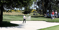 Mikko Korhonen (FIN) in the bunker on the 3rd during Round Three of the 2015 Alstom Open de France, played at Le Golf National, Saint-Quentin-En-Yvelines, Paris, France. /04/07/2015/. Picture: Golffile | David Lloyd<br /> <br /> All photos usage must carry mandatory copyright credit (© Golffile | David Lloyd)